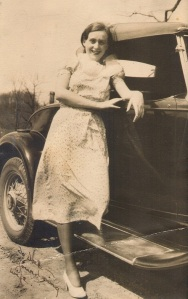 Grandma Funk c. 1934. One year out of college, one year into marriage to an earlier WideEyedFunk.