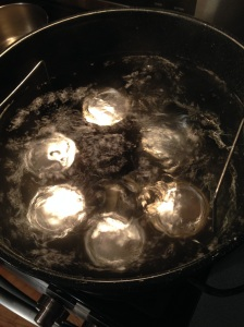 boiling chutney