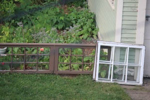 My new cold frame lids.