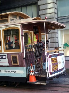 SFO trolley